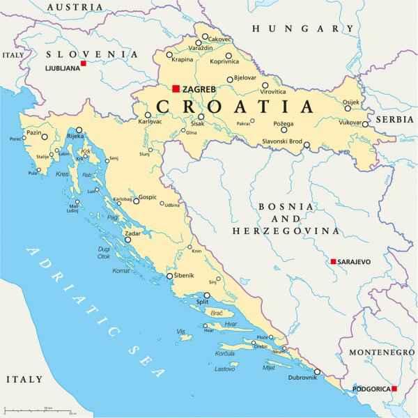 adriatique carte