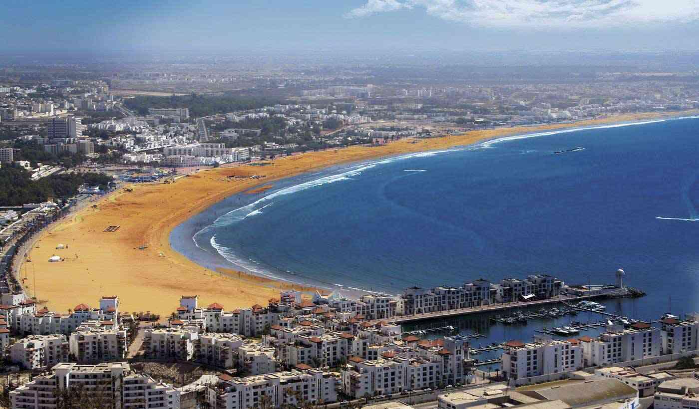 agadir ville touristique du maroc