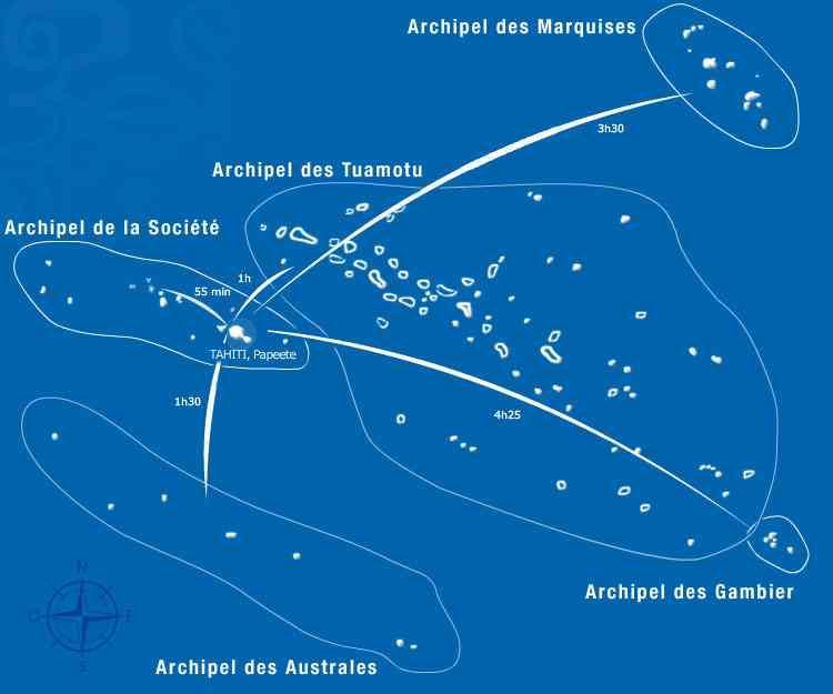 archipel de polynesie