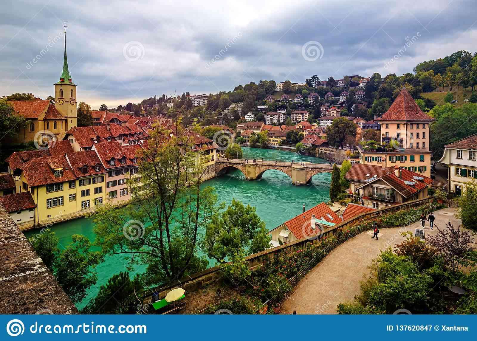 capitale de la suisse
