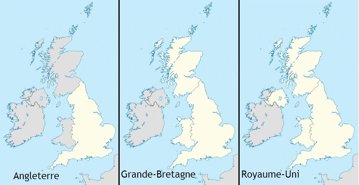 carte d angleterre grande bretagne ou royaume uni