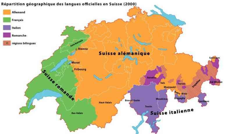 carte de suisse