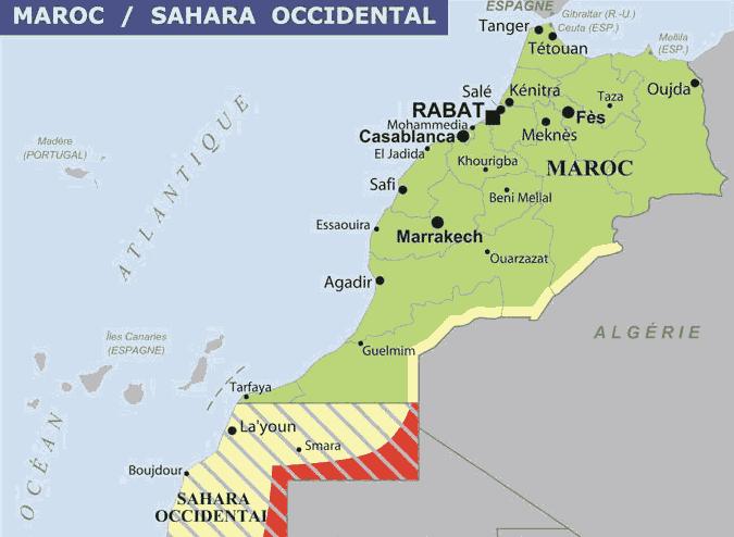 carte du maroc images