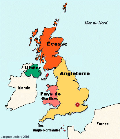 carte du royaume uni