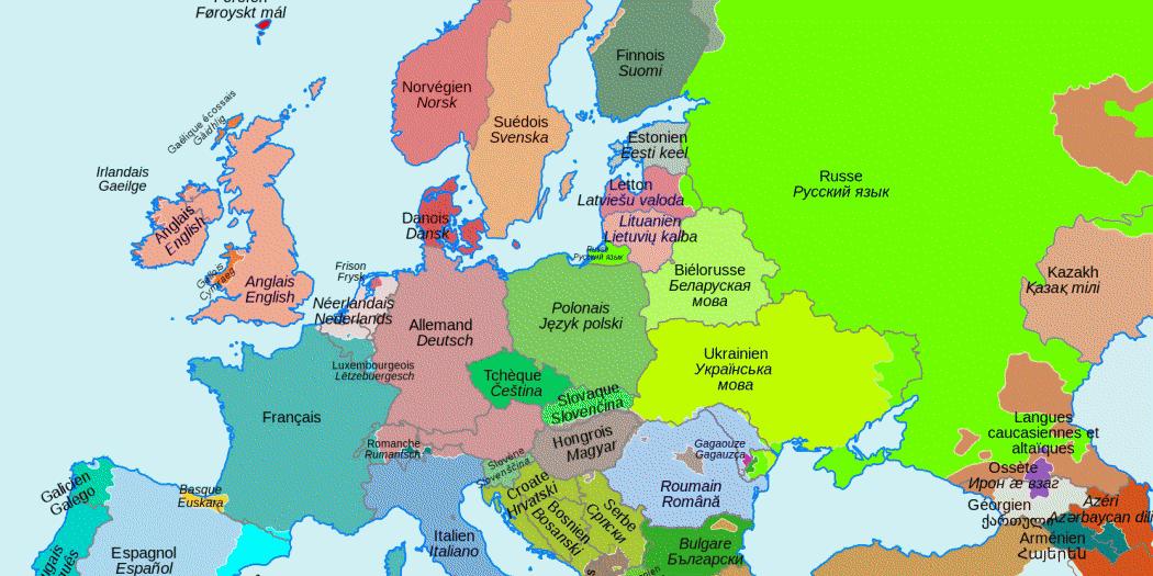 carte europe geographie des pays