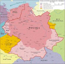 carte geographique de la pologne