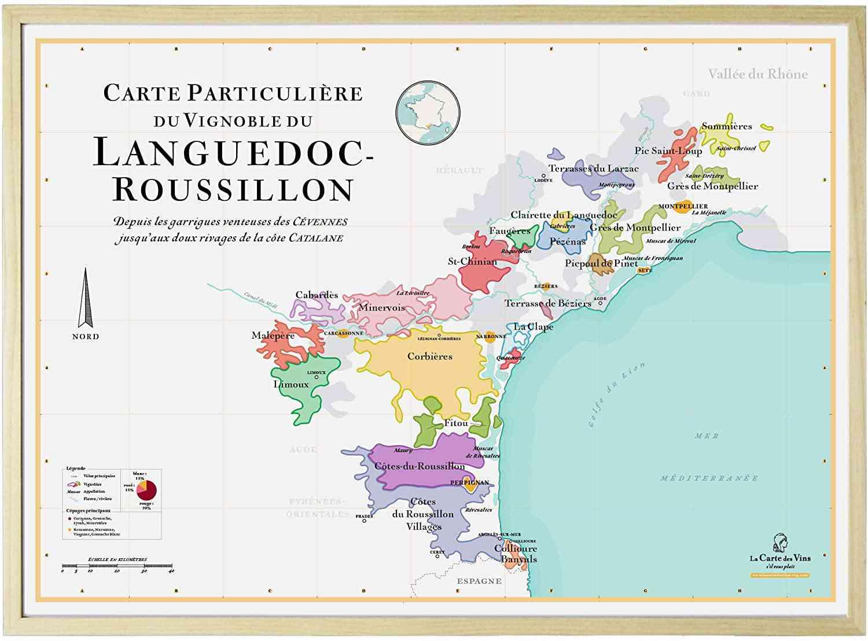 carte languedoc