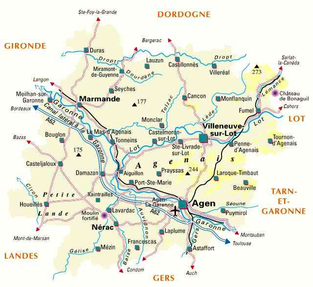 carte lot et garonne