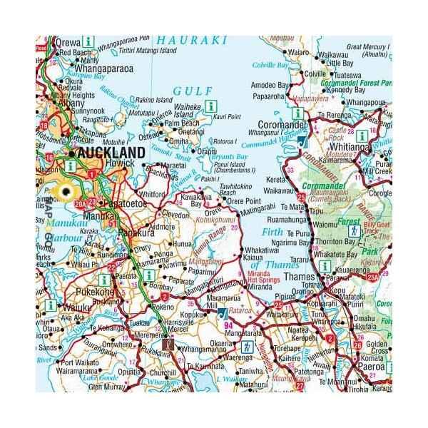 carte routiere nouvelle zelande