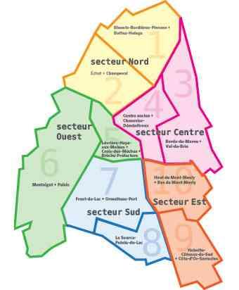 carte ville de creteil