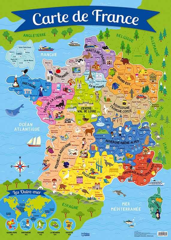 Cartes de France » Vacances - Guide Voyage
