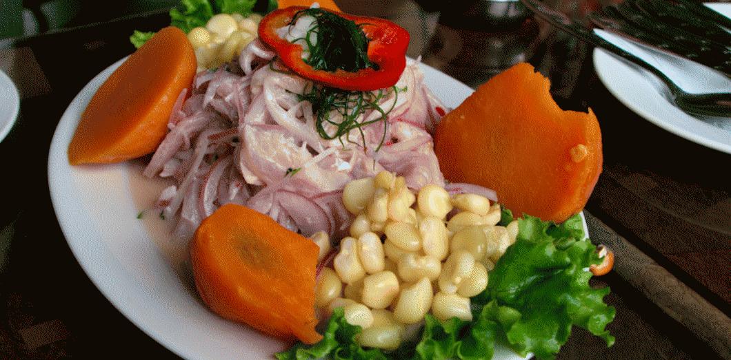 ceviche plat peruvien