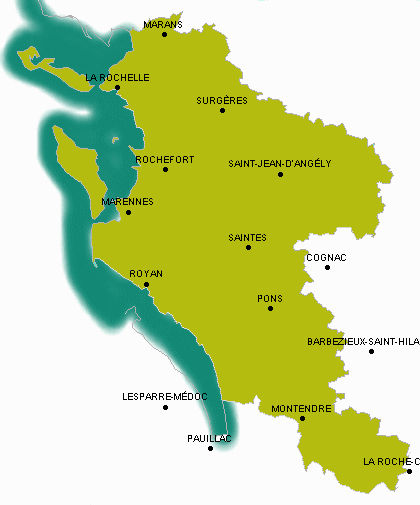 charente maritime departement 17