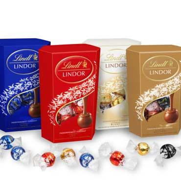 chocolats lindt