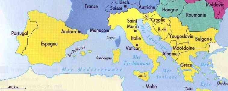 crete carte du monde