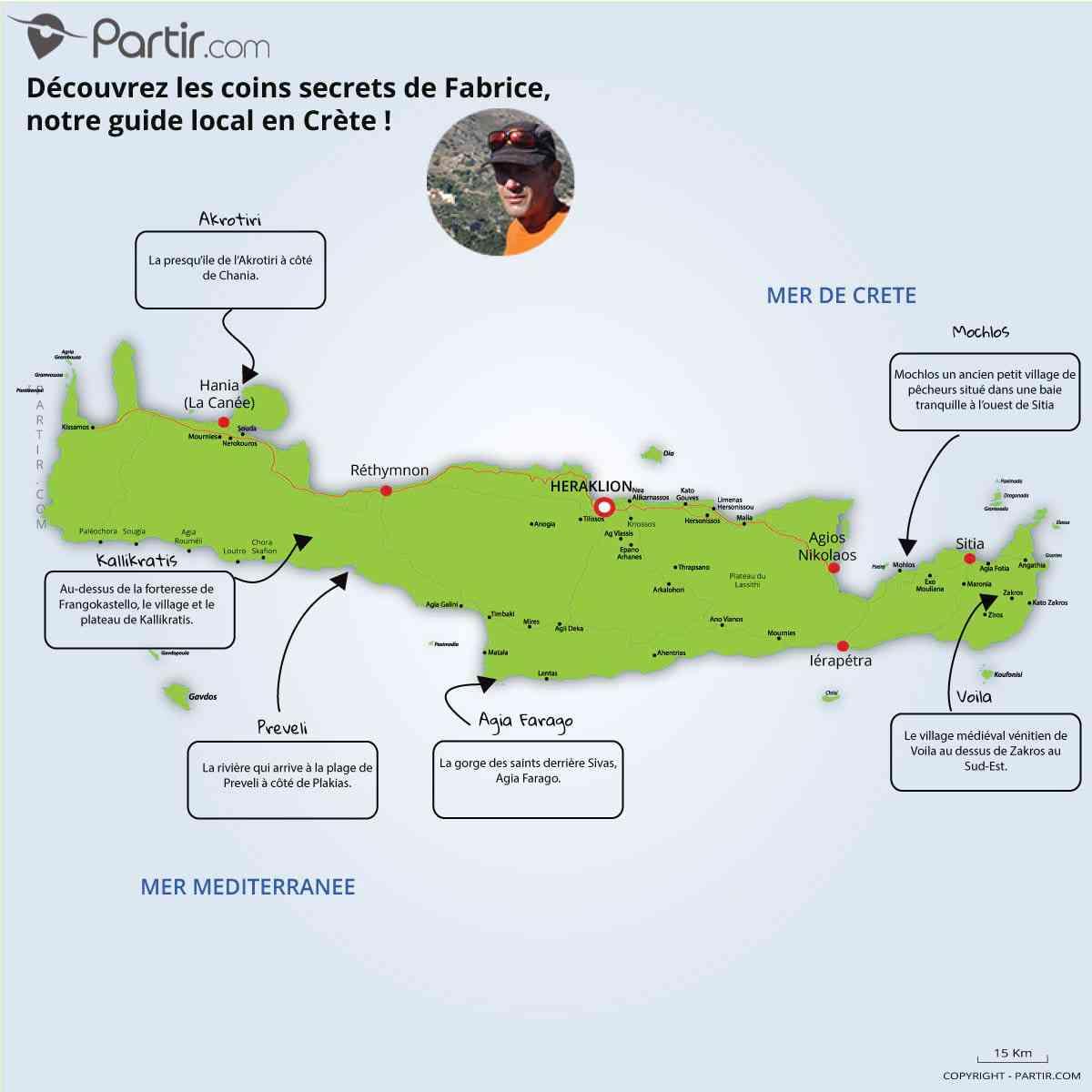 crete carte geographique