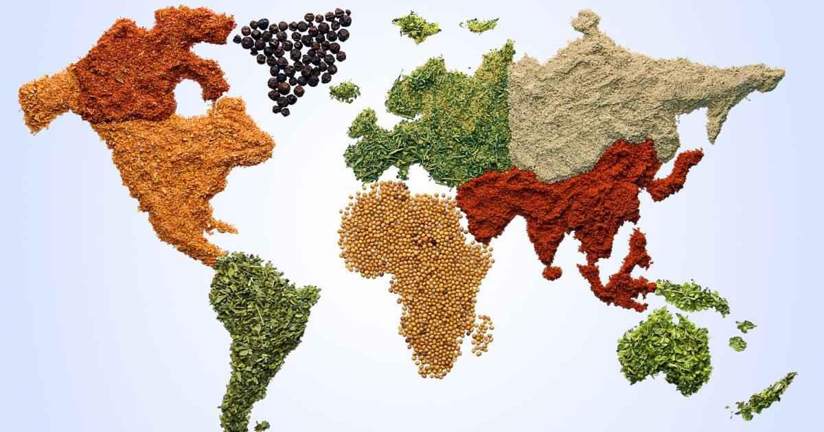 cuisine du monde