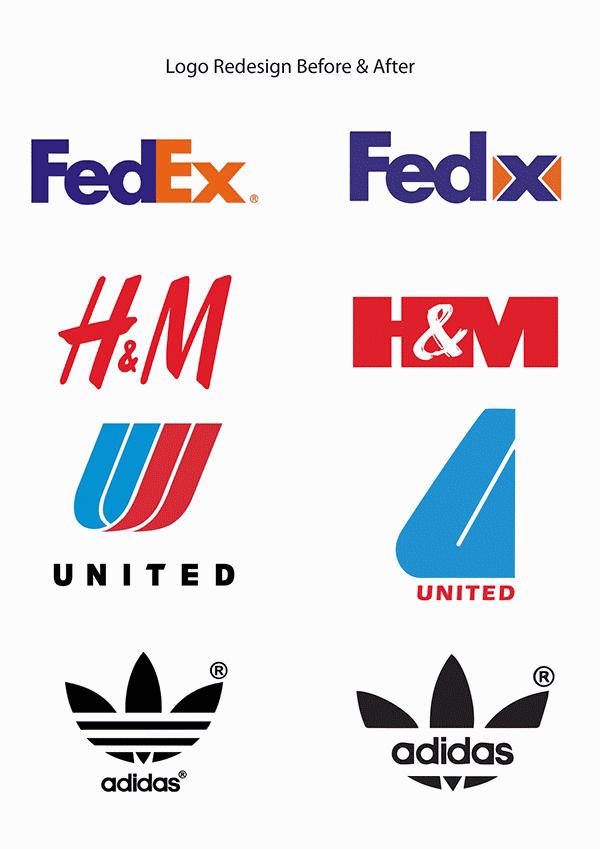 design et re design de logos
