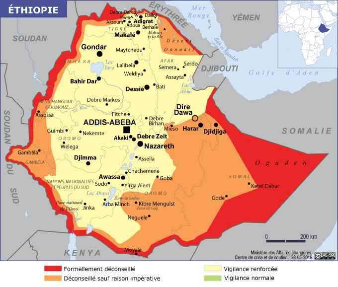 ethiopie carte