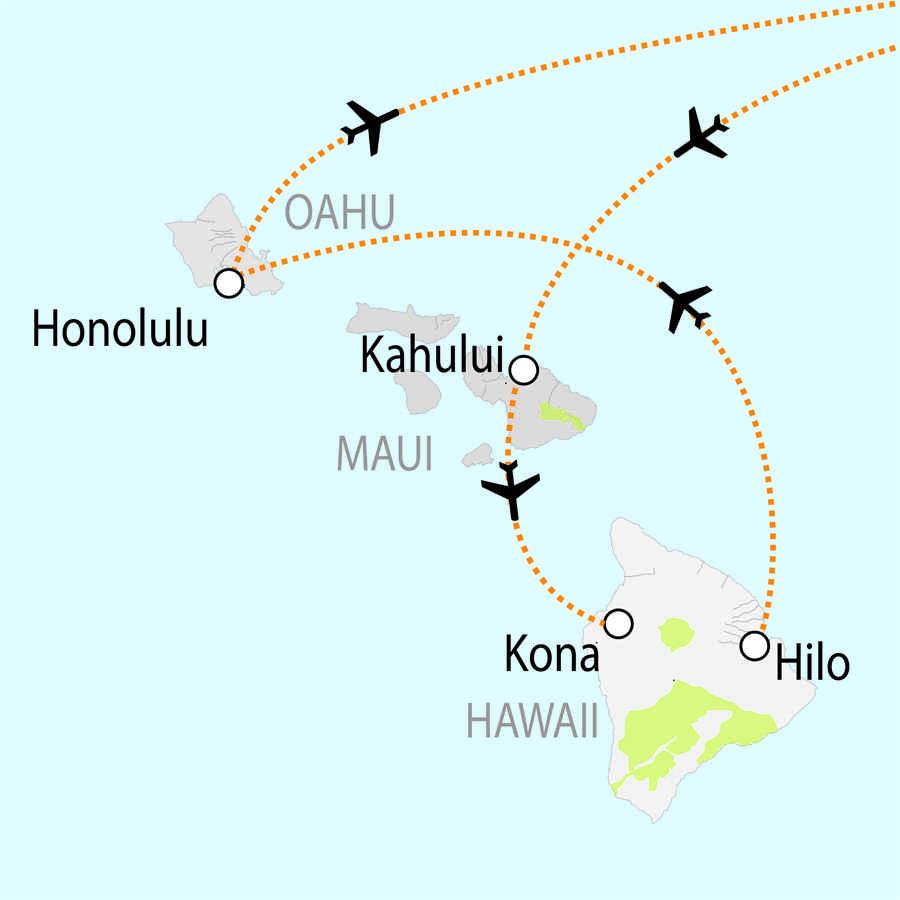 hawaii et ses volcans