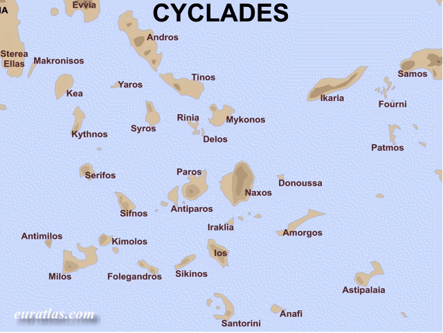iles des cyclades