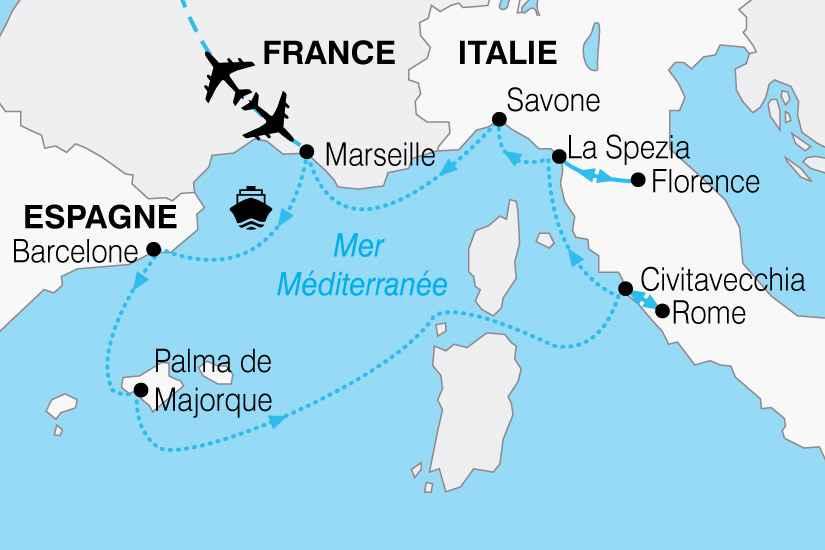 italie croisiere