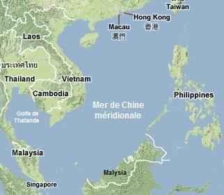 la mer de chine