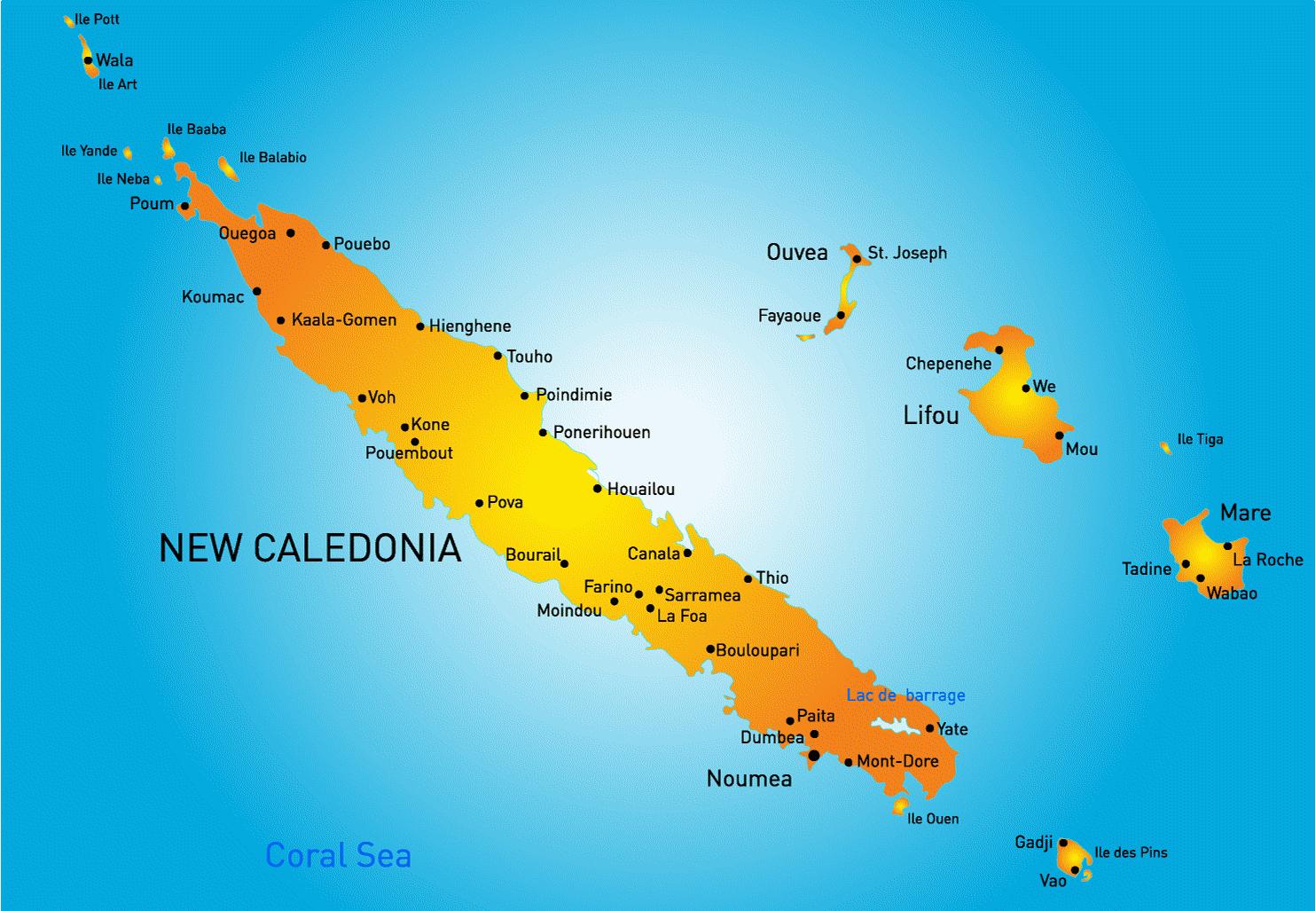la nouvelle caledonie