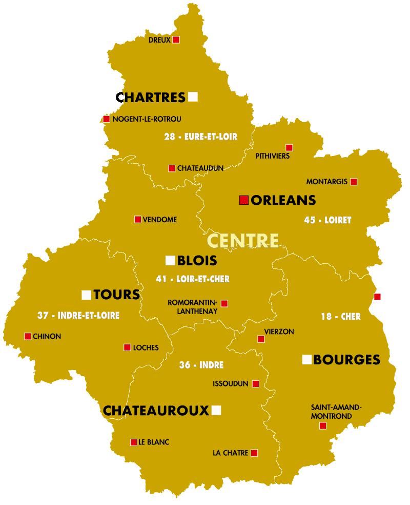 la region centre