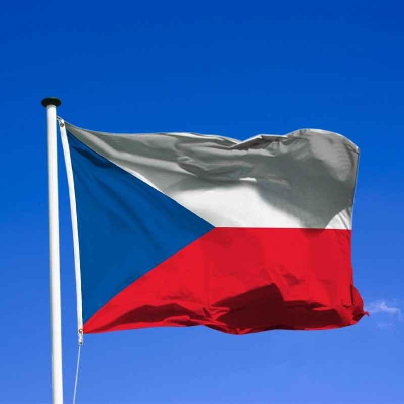 la republique tcheque drapeau