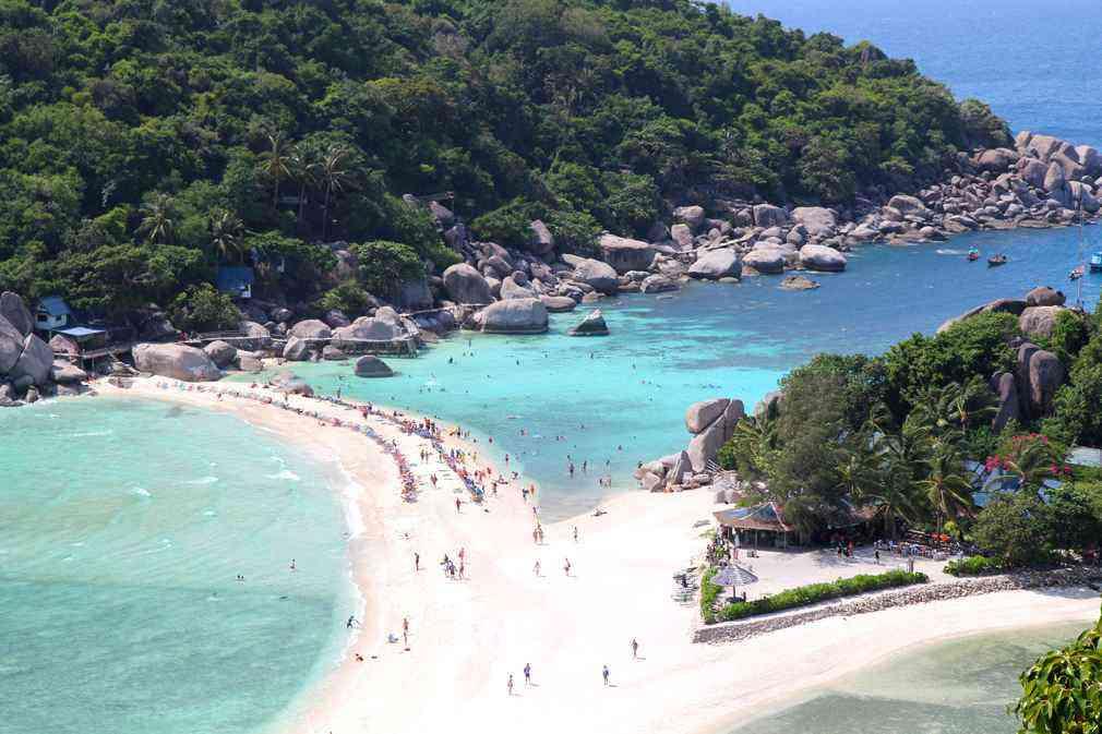 la thailande et les plages de ko tao