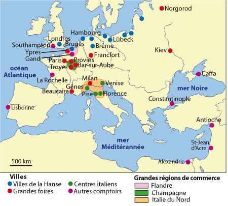 le grand commerce de mediterranee