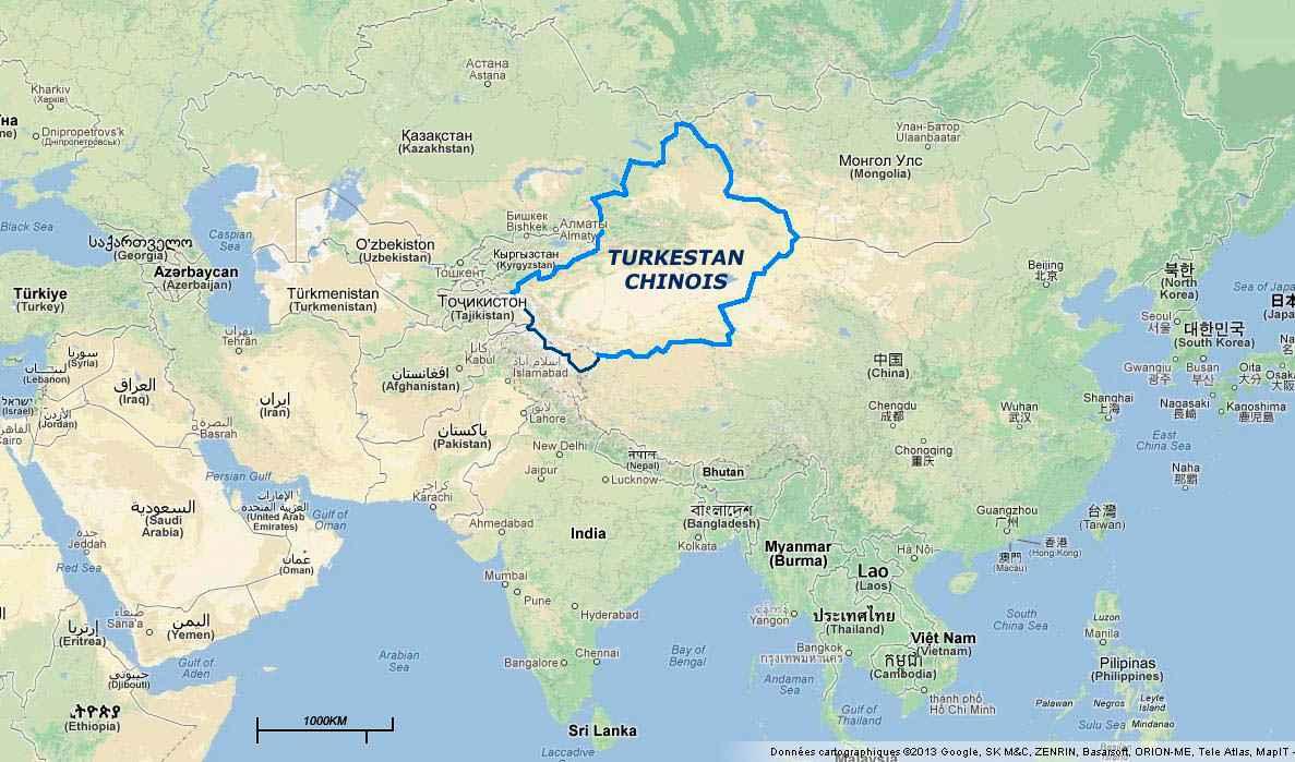 le turkestan