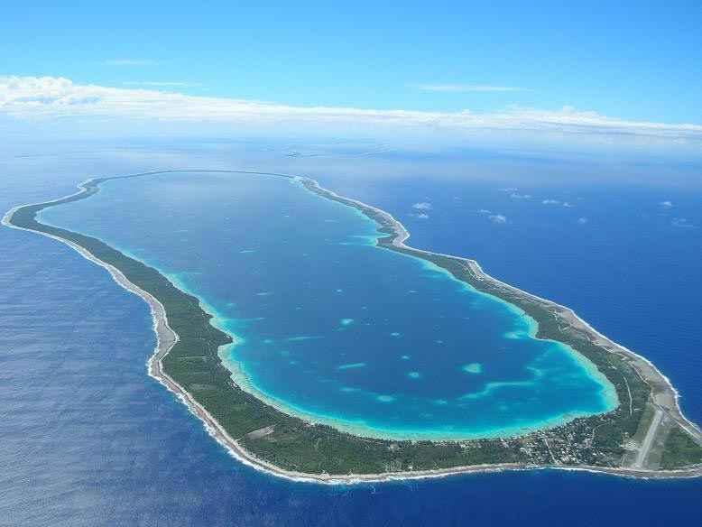 les atolls de tuamotu