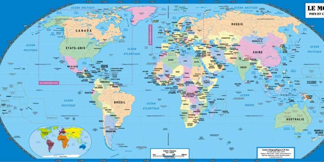 les capitales du monde