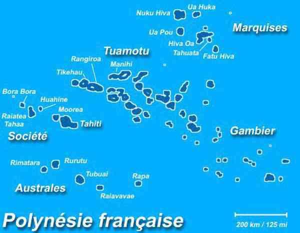 les iles de tahiti