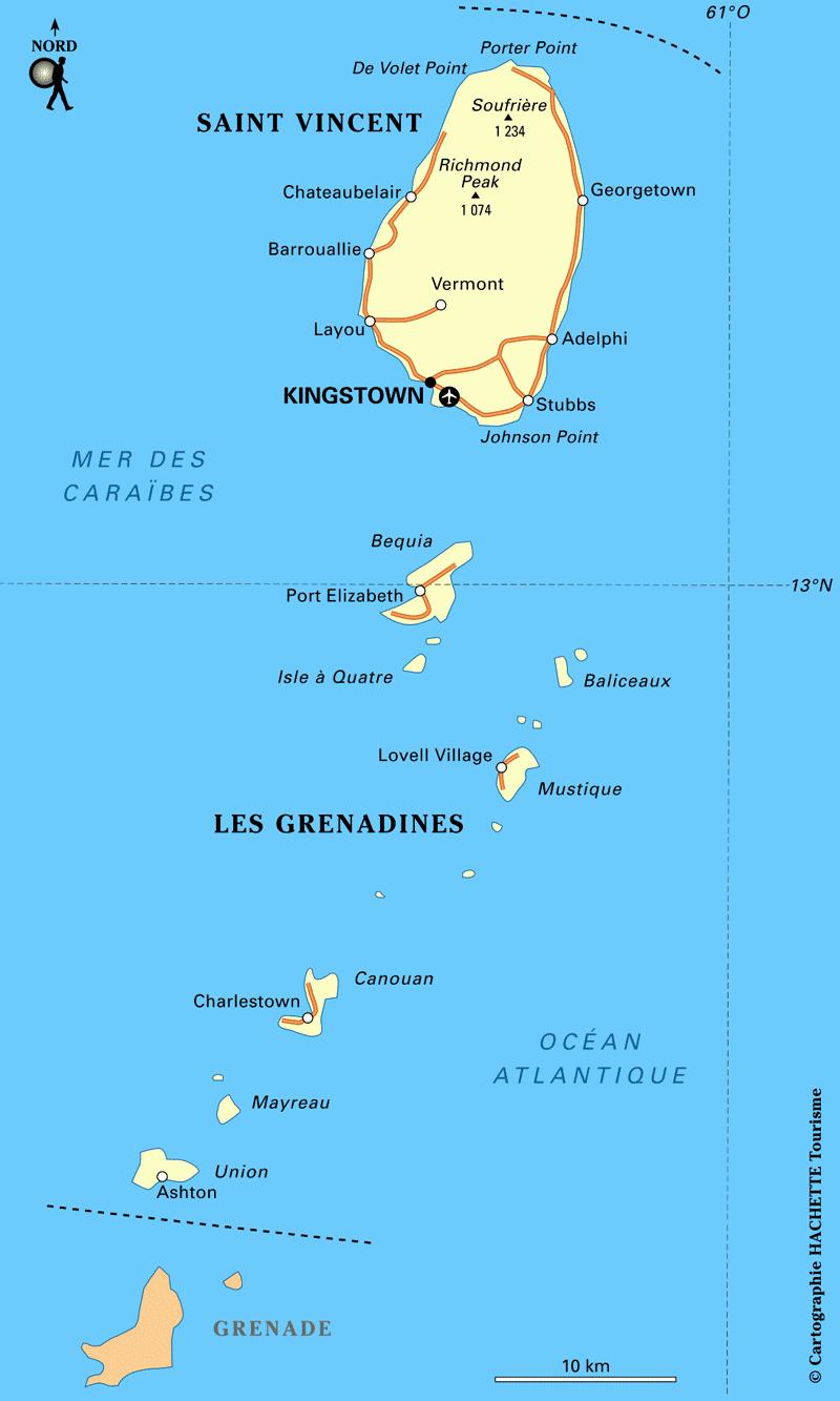 les iles grenadines