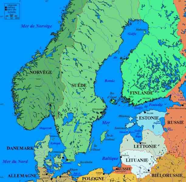 les pays baltes