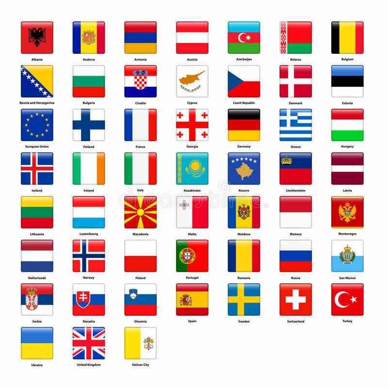 les pays