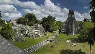 les ruines de tikal