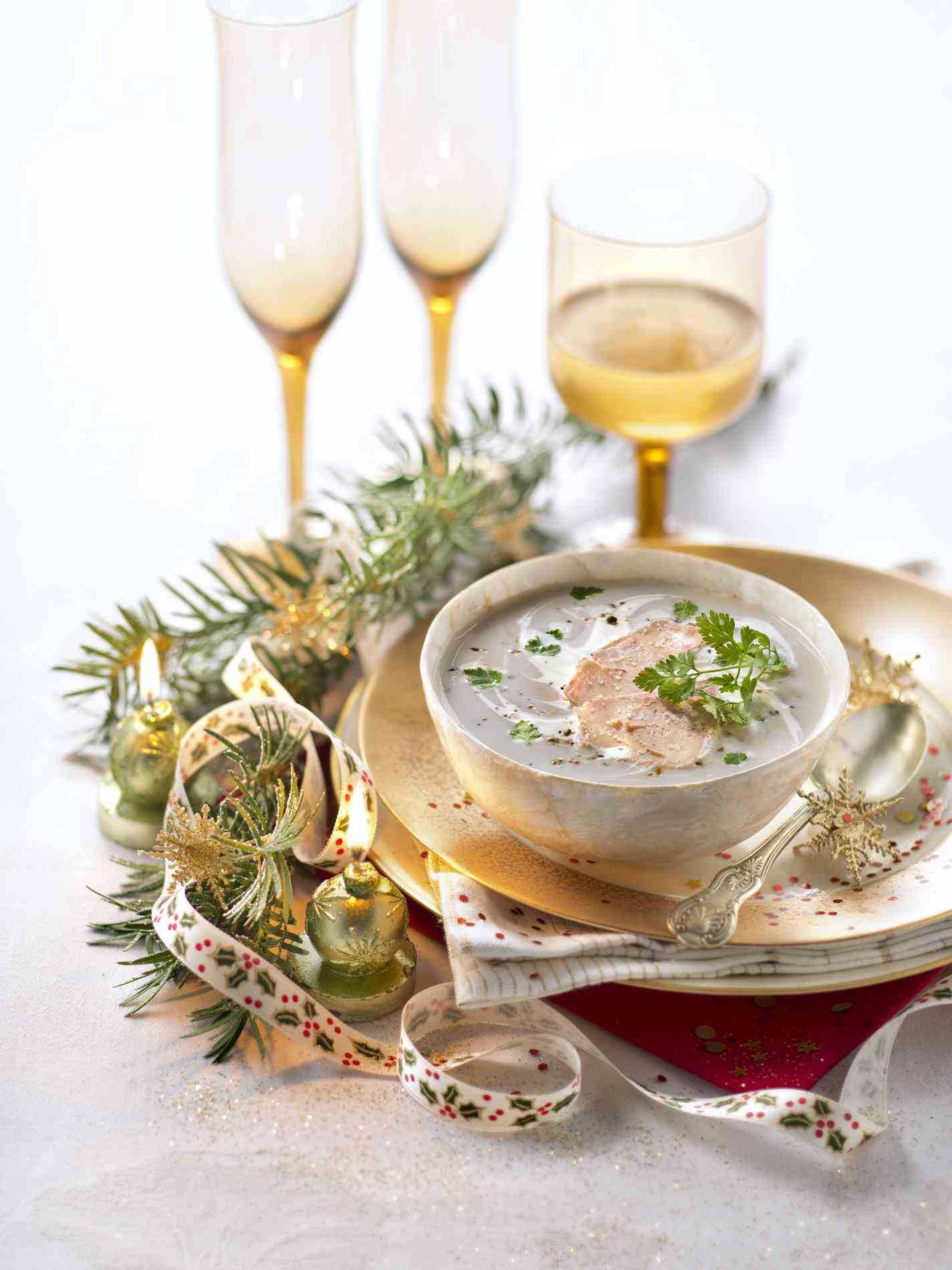 les soupes au foie gras