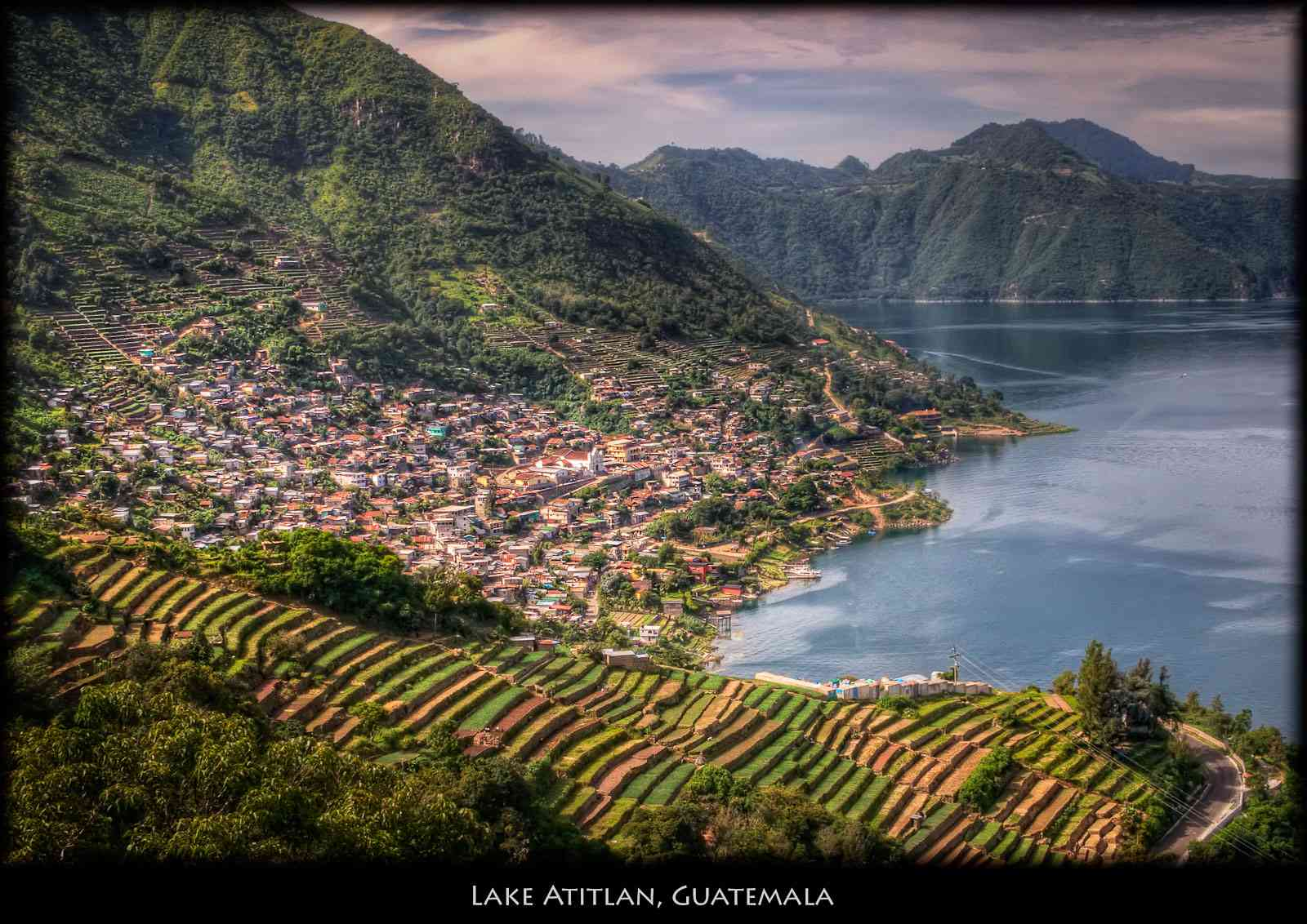 les villages indiens du lac atitlan guatemala