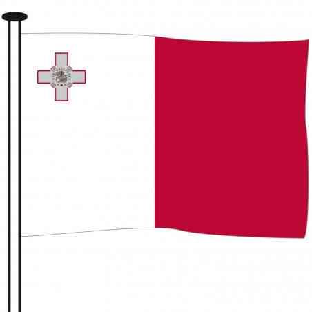 malte drapeau