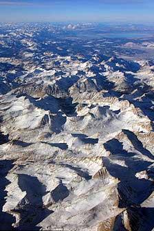 montagnes de sierra nevada