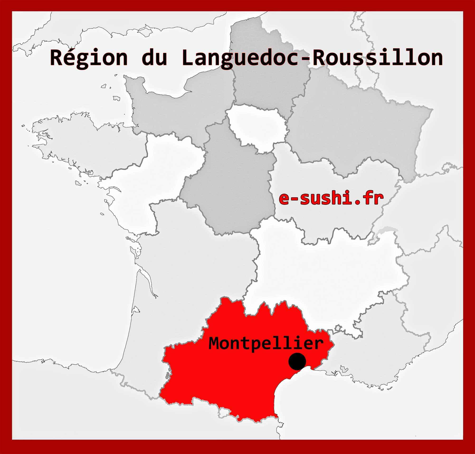 montpellier region languedoc roussillon