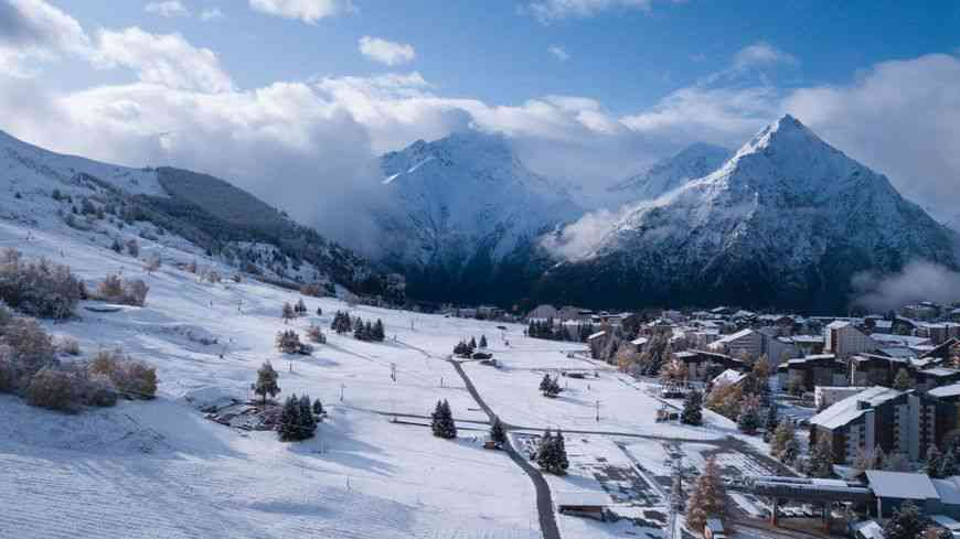 neige les alpes