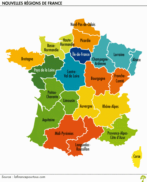 nouvelles regions