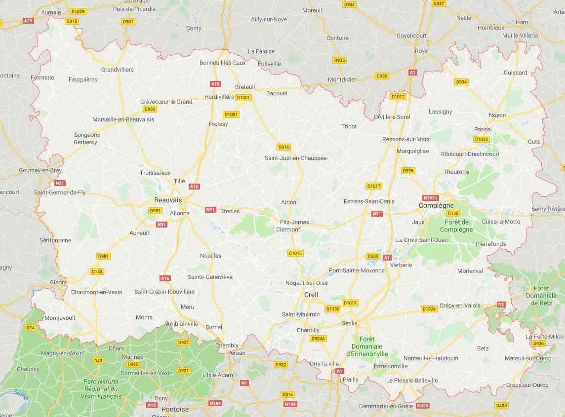 Oise - Département 60 » Vacances - Guide Voyage