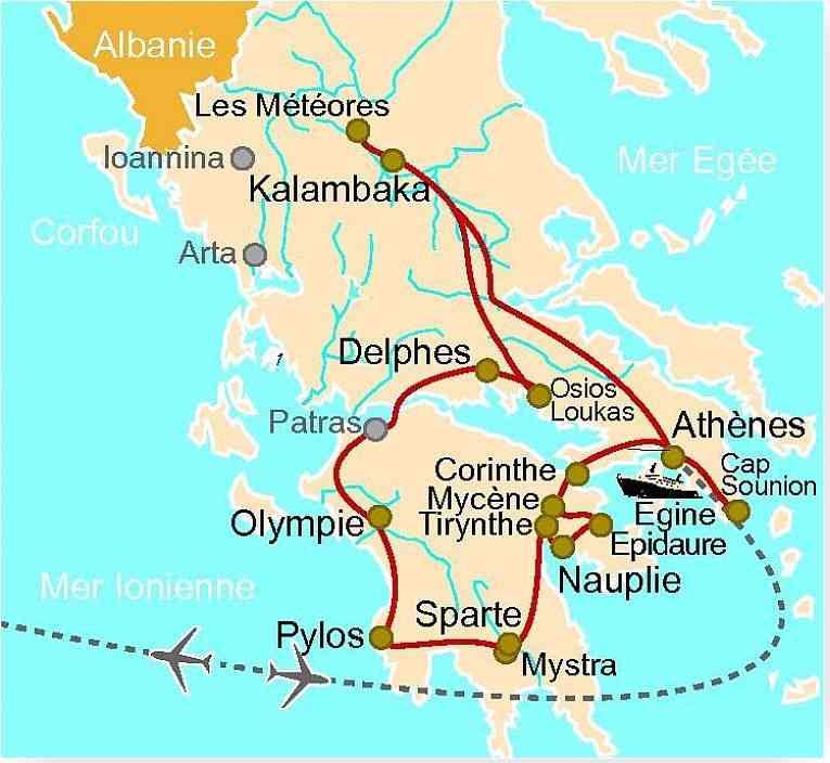 olympie et delphes