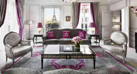 paris hotels de luxe
